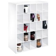 Essential Home 25 Pair Shoe Organizer - White at Kmart.com