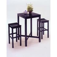 Home Styles 3-Piece Bar Set - Black Finish at Kmart.com