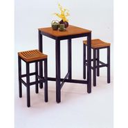 Home Styles 3-Piece Bar Set - Oak/Black Finish at Kmart.com