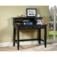 "Home Styles Bedford 42""W Student Computer Desk & Hutch - Ebony at Kmart.com"
