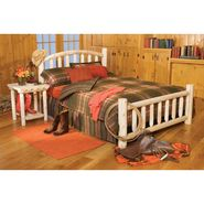 Cedar Looks Arched Wood Double Headboard Bed Set at Kmart.com