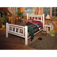 Cedar Looks Deluxe Cedar Log Double Bed Set at Kmart.com