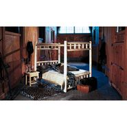 Cedar Looks Canopy Wood Double Bed Set at Kmart.com