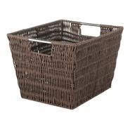 Essential Home Rattique Java Shelf Basket at Kmart.com