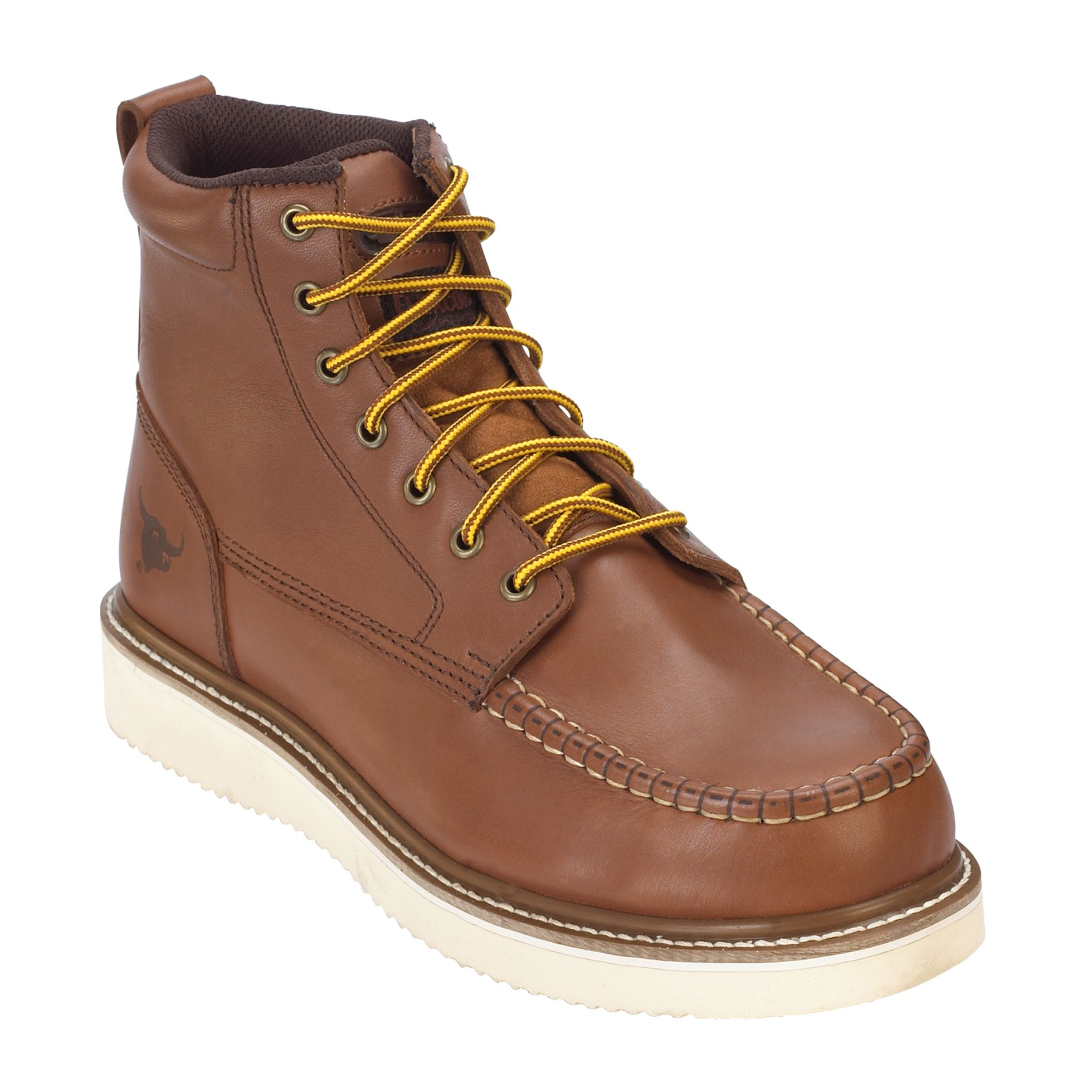 Men's Jonah Moc Toe Work Boot - Brown