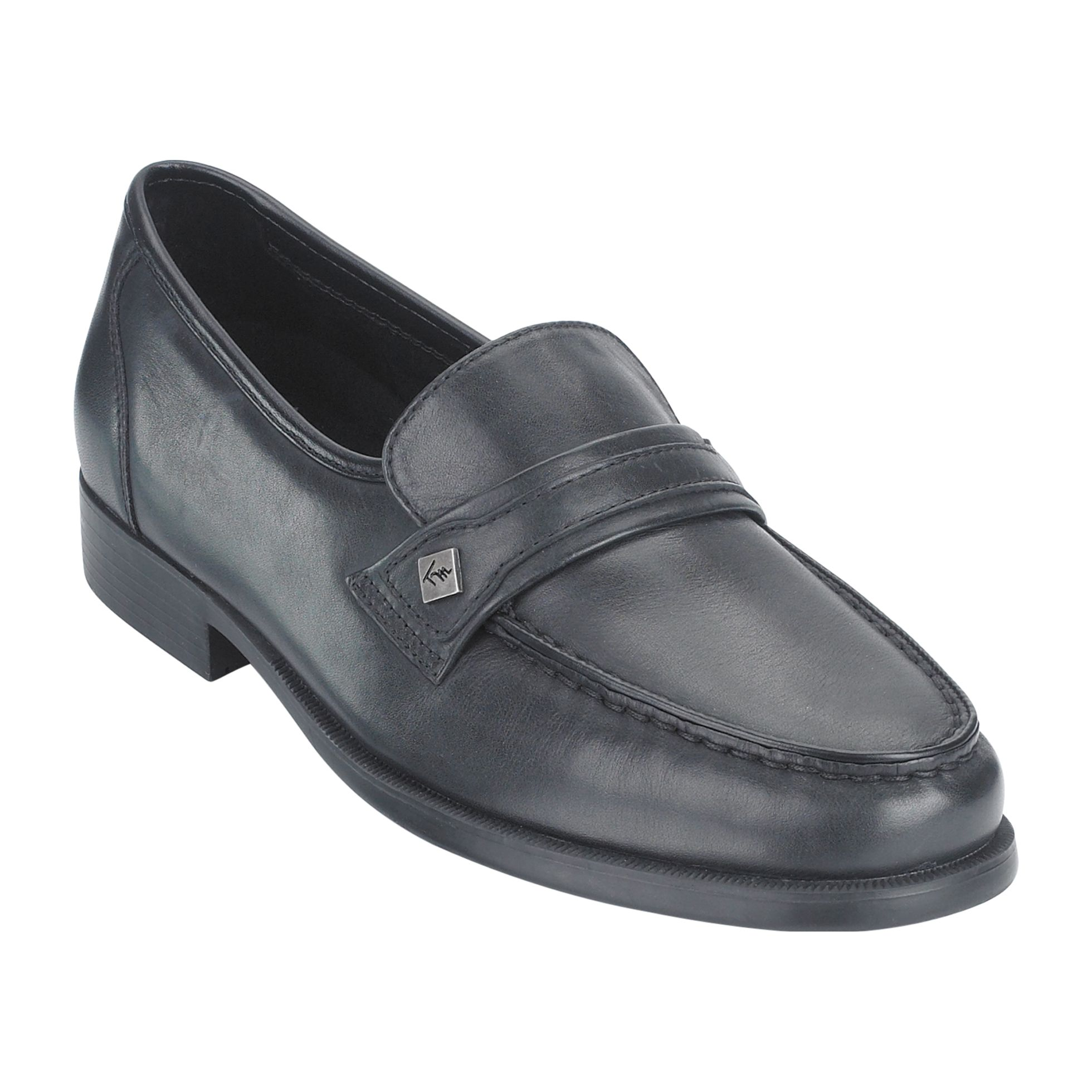 Men's Karl Tube Moc Dress Shoe WW - Black