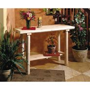 "Cedar Looks 30""H x 47""W x 16""D Wood Sofa/Console Table - Creamy White at Kmart.com"