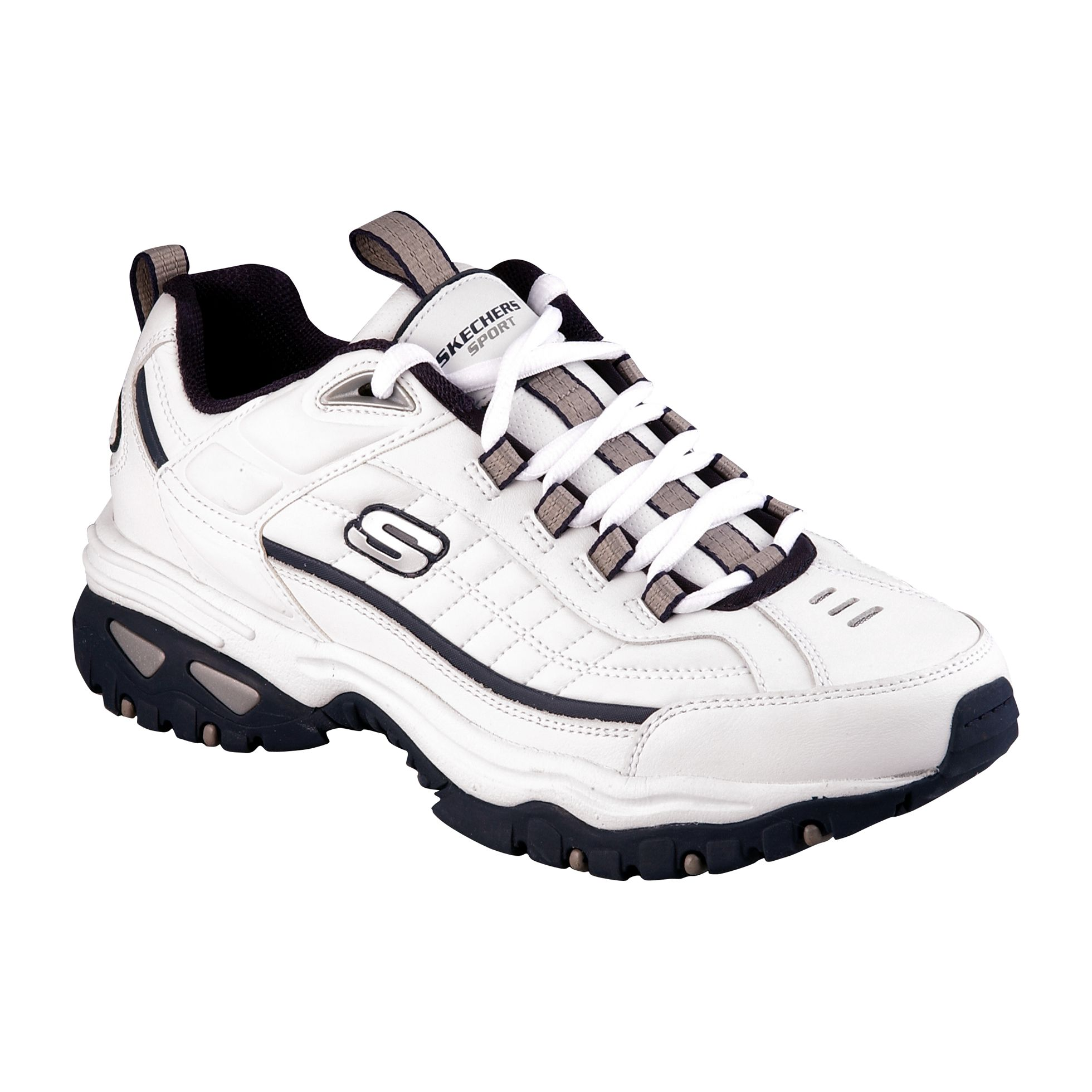 Skechers  Men's Afterburn Athletic Shoe - Navy/White