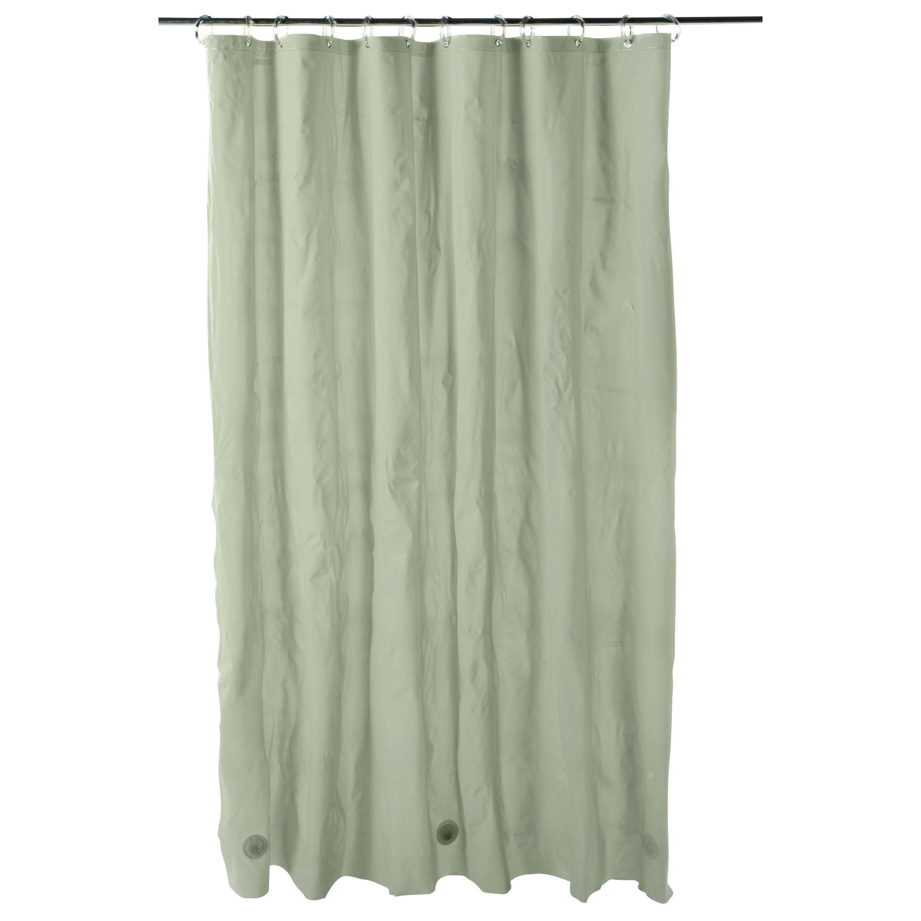Essential Home Shower Curtain Liner 5 Gauge Vinyl PEVA, Beige