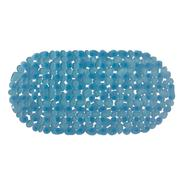 Essential Home 14 in. X 27 in. Blue Pebble Bath Mat at Kmart.com