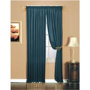 Essential Home Luxury Crushed Faux Silk Window Panel - Indigo at Kmart.com