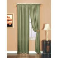 Essential Home Luxury Crushed Faux Silk Window Panel Sage at Kmart.com