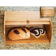Lipper Wood Roll Top Bread Box at Sears.com