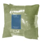 Essential Home 2-Pack Faux Suede Decorative Pillow, Sage, 18x18 at Kmart.com
