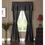Essential Home Kyra 5 Piece Window Black 57 X 84 at Kmart.com