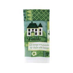 Essential Home Print Kitchen Towel Green at Kmart.com