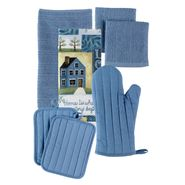 Essential Home Blue Kitchen Linen Collection at Kmart.com