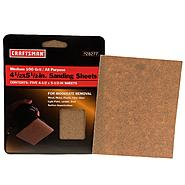 Craftsman 4-1/2 x 5-1/2 in. 100 Grit Sanding Sheets, 5 pk. at Craftsman.com