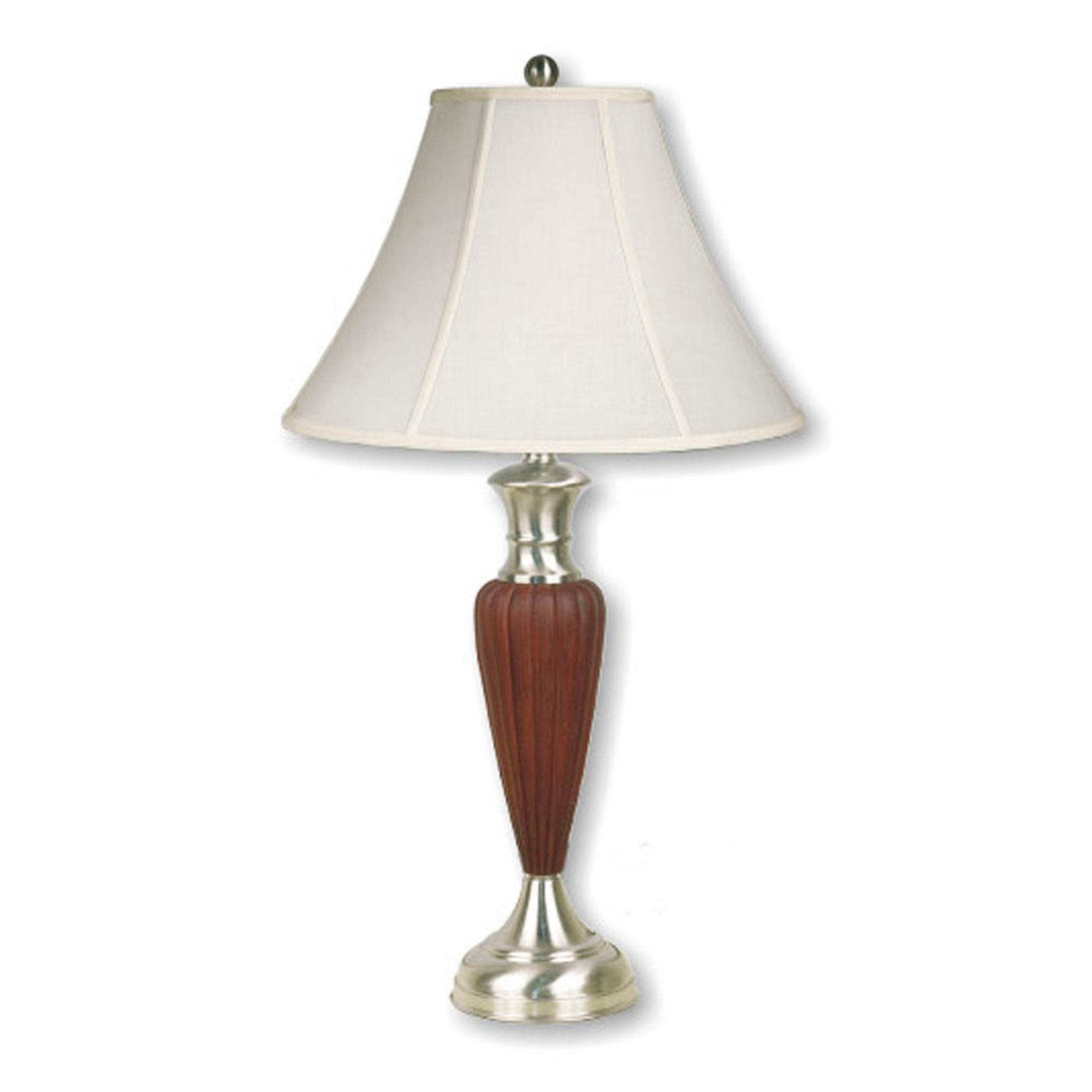 Ore  Walnut Deco-Base Table Lamp