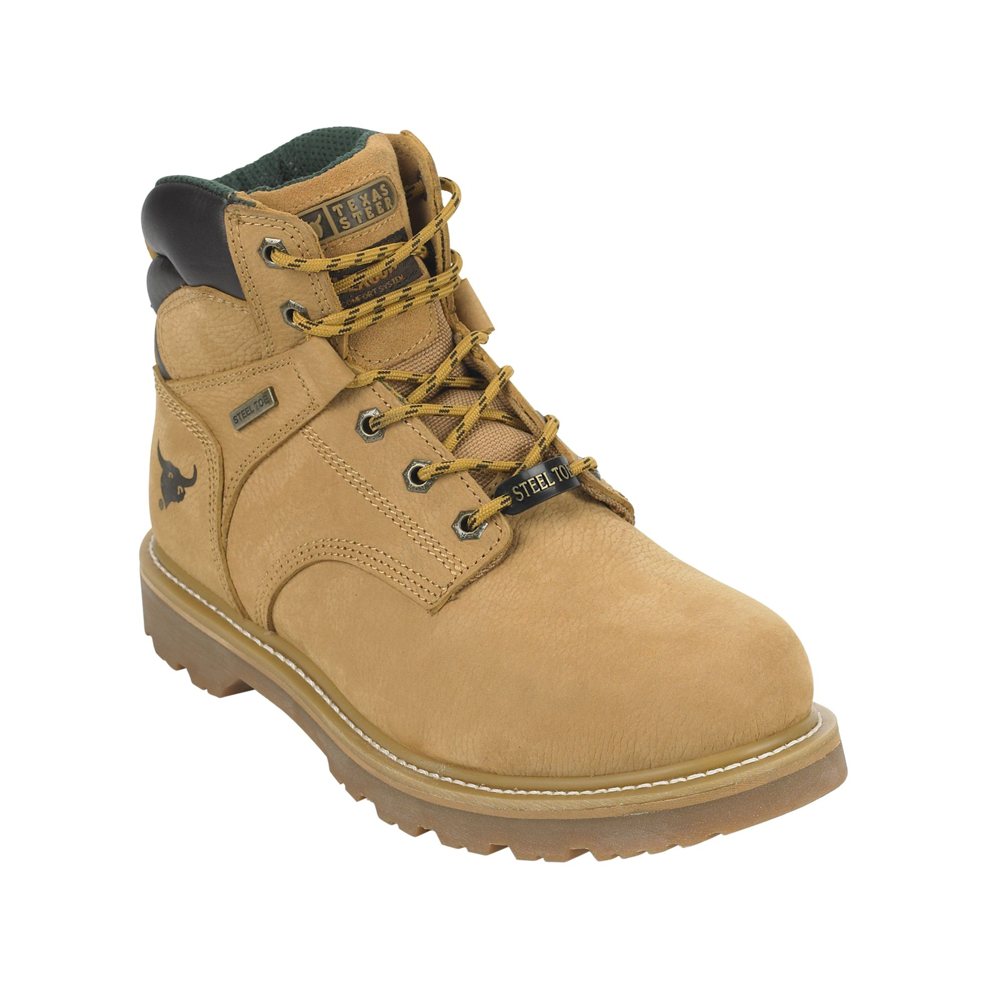 Men's Kaine Leather Steel Toe Work Boot WW -