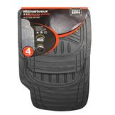 WeatherHandler Deluxe 4 pc. Rubber Floor Mat Set at mygofer.com