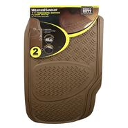 WeatherHandler Tan 2 pc. Diamond Plate Truck Mat Set at Sears.com