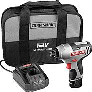 "Craftsman 17428 Nextec 12-volt Cordless Compact 1/4"" Impact Driver - NEW LOW PRICE! at Craftsman.com"