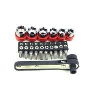Trademark Tools 17 piece Deluxe Mini-Ratchet Screwdriver Socket Set at Sears.com