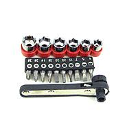 Trademark Tools 17 piece Deluxe Mini-Ratchet Screwdriver Socket Set at Craftsman.com