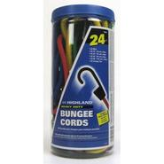 Highland Assorted Bungee Cords in Jar - 24 Count at Kmart.com