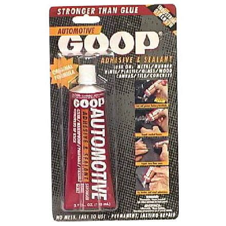 Goop Automotive Adhesive and Sealant,