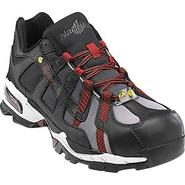Nautilus Safety Footwear Men's Work Shoes Alloy Lite Toe Athletic Black/Red 01317 at Sears.com