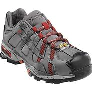 Nautilus Safety Footwear Women's Work Shoes Steel Toe Athletic Grey/Red 01356 at Sears.com