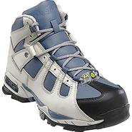 Nautilus Safety Footwear Women's Work Boots Leather Steel Toe Grey/Blue 01592 Wide Available at Sears.com