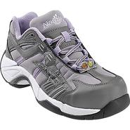 Nautilus Safety Footwear Women's Work Shoes Steel Toe Athletic Grey/Lavender 01450 at Sears.com