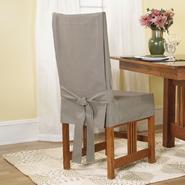 Sure Fit Duck Linen Short Dining Room Chair Slipcover at Sears.com