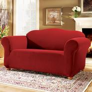 Sure Fit Stretch Pearson Red Sofa Slipcover at Sears.com