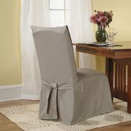 Sure Fit Cotton Duck Linen Full Dining Room Chair Slipcover at Sears.com