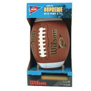 Wilson NCAA Supreme Junior Competition Football at Kmart.com