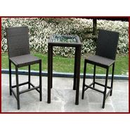 Hiland Santa Ana 3-piece Wicker Patio Bistro Bar Set at Kmart.com