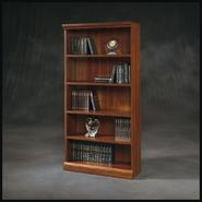 "Sauder Camden County Collection 72-1/2""H x 36""W x 13-7/8""D Library - Planked Cherry at Kmart.com"
