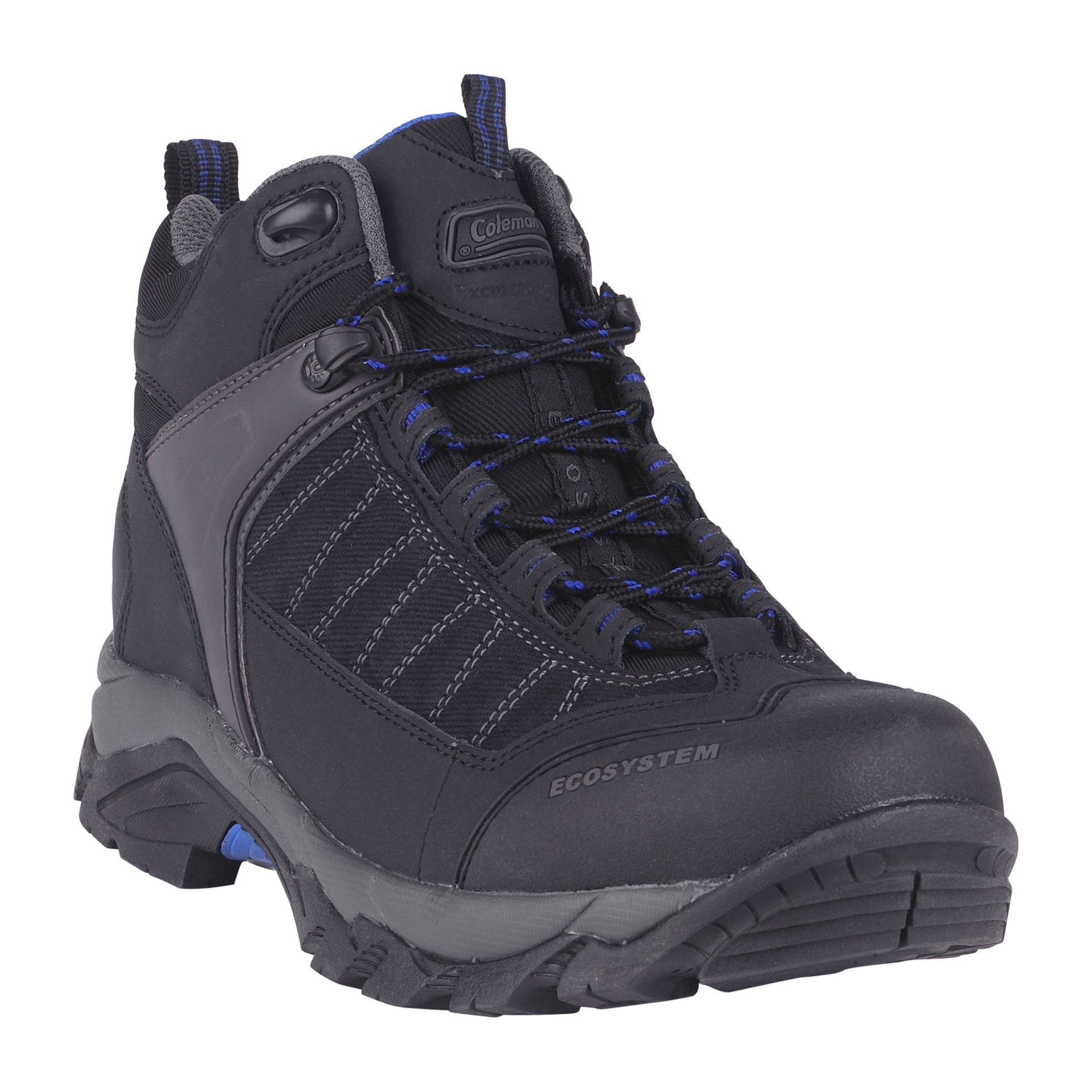 Men's Karter Leather Mid High Hiker Boot