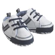 Little Wonders Newborn Boy's Soft Sole Lace-Up Shoes - One Size at Kmart.com