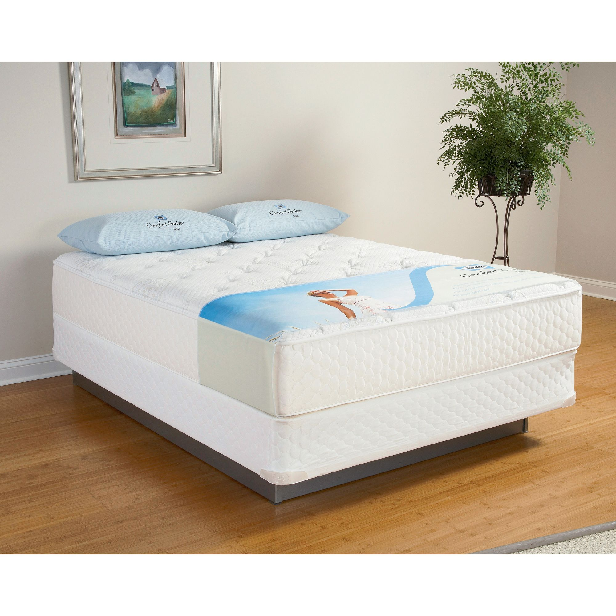 Tranquil-Sea-Plush-Latex-King-Mattress