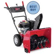 "Craftsman 24"" 179cc Dual-Stage Snow Blower at Sears.com"