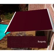 Beauty-Mark® DESTIN® LX Manual Retractable Awning  with Hood - Burgundy at Sears.com