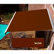 Beauty-Mark® DESTIN® LX Manual Retractable Awning  with Hood - Terra Cotta at Sears.com