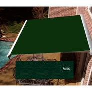 Beauty-Mark® DESTIN® LX Motorized Retractable Awning  with Hood - Forest at Sears.com