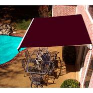 Beauty-Mark® MAUI® LX  Manual Retractable Awning  - Burgundy at Sears.com