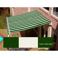 Beauty-Mark® MAUI® LX  Manual Retractable Awning  - Forest/White at Sears.com